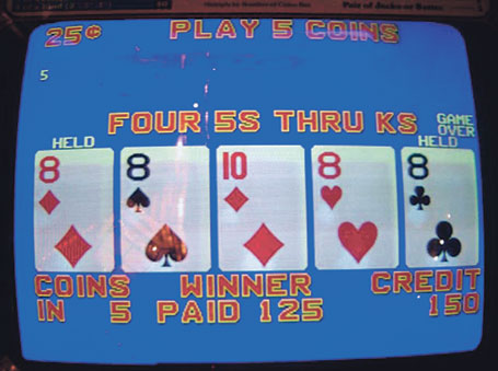Introduction To Video Poker Strategy